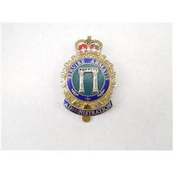 CANADIAN FORCES CAP BADGES
