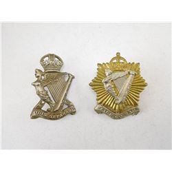 ROYAL IRISH REGIMENTS CAP BADGE