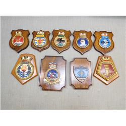 ASSORTED PLAQUES