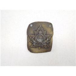 OVERSEAS BATTALION TRENCH ART