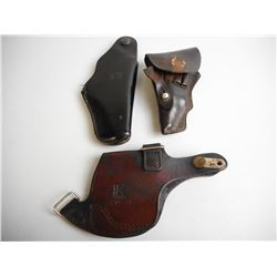 ASSORTED SMALL HOLSTERS