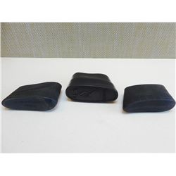 BLACK RUBBER SLIP ON RECOIL PADS
