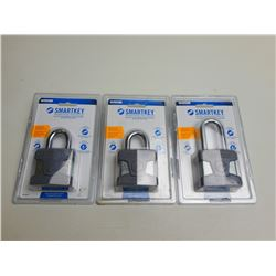 WEISER SMARTKEY SECURITY LOCKS - SET OF 3