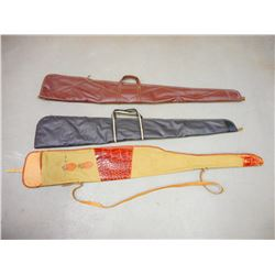 ASSORTED LOT OF 3 RIFLE BAGS
