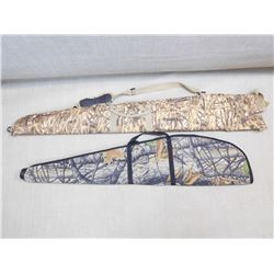 ASSORTED LOT OF CAMO RIFLE BAGS INCLUDES: