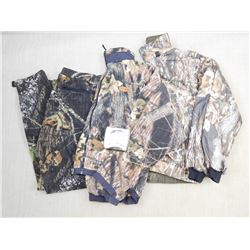 ASSORTED CAMO CLOTHES & TOILET PAPER
