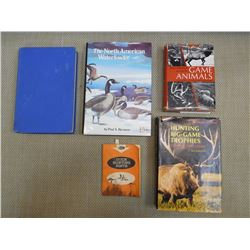 ASSORTED HUNTING BOOKS & GUIDES
