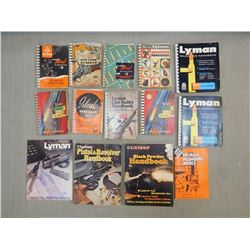 ASSORTED LYMAN HANDBOOKS