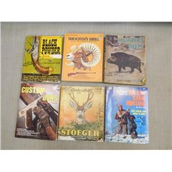 ASSORTED SHOOTER'S BIBLE & DIGEST BOOKS