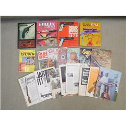 ASSORTED FIREARMS BOOKS & MAGAZINES