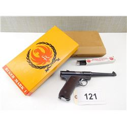 RUGER , MODEL: MK I  , CALIBER: 22LR