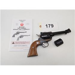 RUGER , MODEL: NEW MODEL SUPER SINGLE SIX CONVERTIBLE , CALIBER: 22 LR / 22 MAG