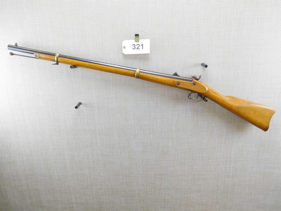 ANTONIO ZOLI , MODEL: REMINGTON 1873 ZOUAVE RIFLE - MUSKET REPRODUCTION ,  CALIBER: 58 PERC