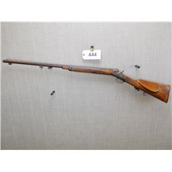 HUSQVARNA , MODEL: 33 ROLLING BLOCK RIFLE , CALIBER: 12.7 X 44R
