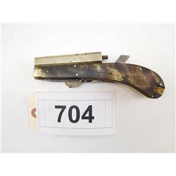 UNWIN & RODGERS  , MODEL: PERCUSSION KNIFE PISTOL , CALIBER: 32 CAL PERCUSSION