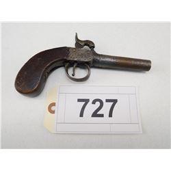 UNKNOWN BRITISH  , MODEL: SINGLE SHOT PERCUSSION SCREW BARREL  , CALIBER: 45 CAL PERC