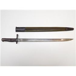 REMINGTON 1917 US STAMPED BAYONET WITH SCABBARD