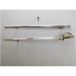 US MODEL 1840 INFANTRY SWORD AND SCABBARD