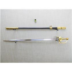 1837 PATTERN AUSTRIAN CAVALRY OFFICER'S SWORD AND SCABBARD