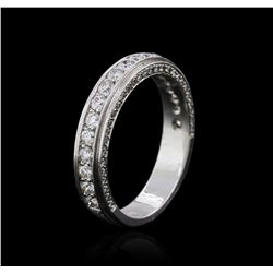 14KT White Gold 0.63 ctw Diamond Ring