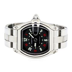 Cartier Stainless Steel Men's Roadster Automatic Wristwatch