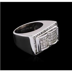 14KT White Gold 2.17 ctw Diamond Ring