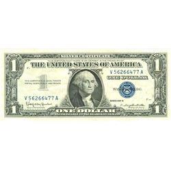 $1 XF/AV Silver Certificate Currency