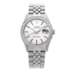 Rolex Pre-owned 36mm Mens Silver Stainless Steel - REF-580X4K