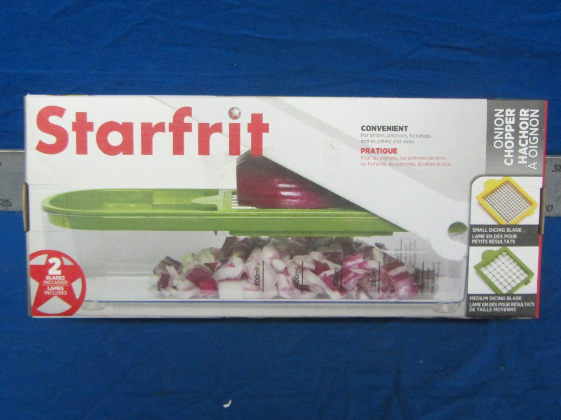 New starfrit Onion chopper