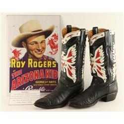 Roy Rogers Eagle Cowboy Boots