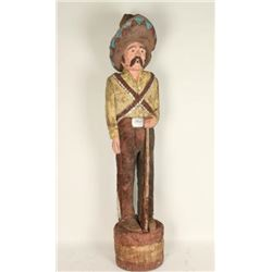 Vintage Native American Ralph Gallagher Carving