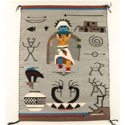 Pictorial Navajo Weaving