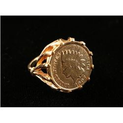 1907 1¢ Gold Ring