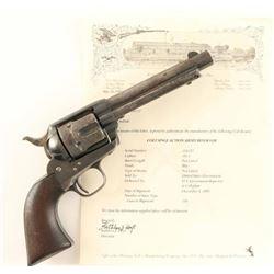 *Colt U.S. Artillery Model .45 LC SN: 116532