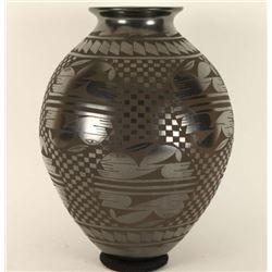 Santa Clara Blackware Vase