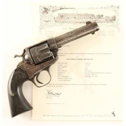 Colt Bisley .38 WCF SN: 252670