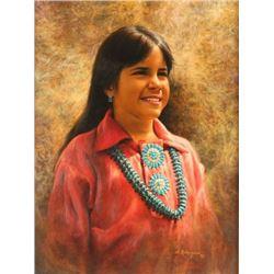 Beautiful Original Oil on Canvas