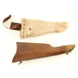 Reproduction 1885 Horse Pistol Stock