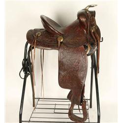 Vintage Heiser Saddle