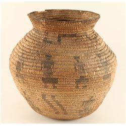Figural Olla Basket.