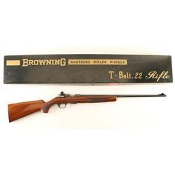 Browning T-Bolt .22 LR SN: 19175X6