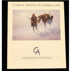 """Cowboy Artists of America 1984"""
