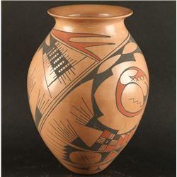 Vintage Mata Ortiz Polychrome Pot