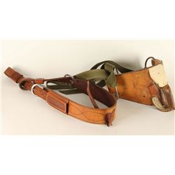 Bareback Saddle & Flank Strap