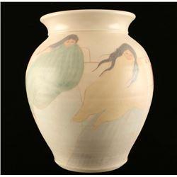 Contemporary Pueblo Figural Pot
