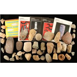 Large Lot of Stone Tools