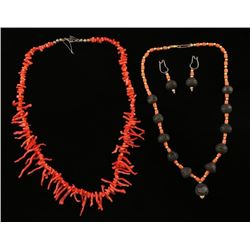 Lot of Coral Jewelry