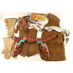 Lot of Vintage Child's Cowboy Costumes