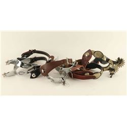 Lot of 3 Pairs of Spurs