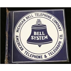 Vintage Telephone Company Sign